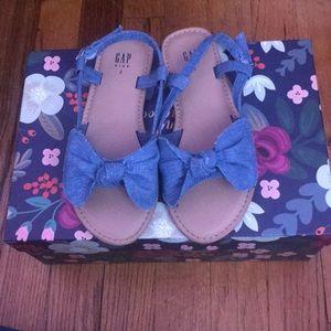 GAP Girl's Denim Sandals